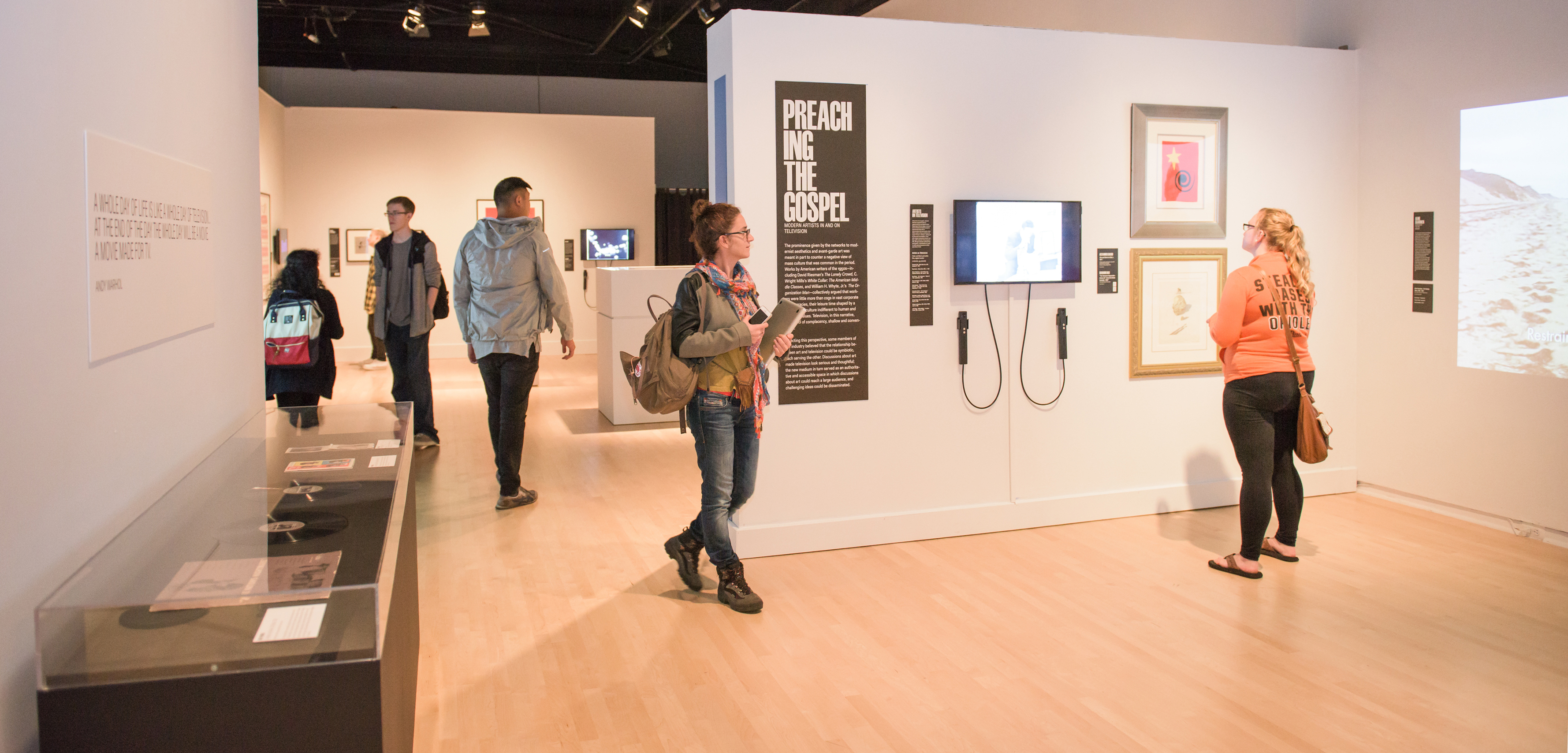 """Revolution of the Eye"" opens at UMBC's Center for Art, Design and Visual Culture"
