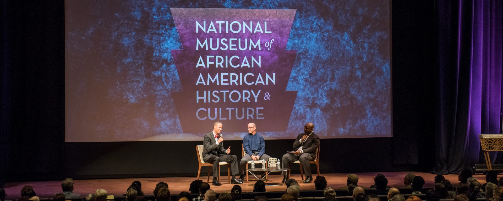 George Derek Musgrove, History, launches book at the National Museum of African American History and Culture