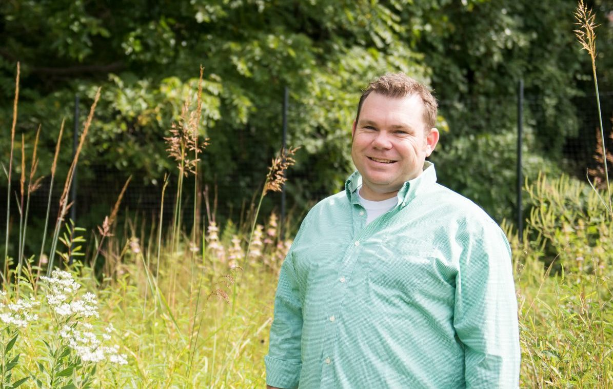 Chris Swan, GES, recognized for transforming vacant lots in Baltimore
