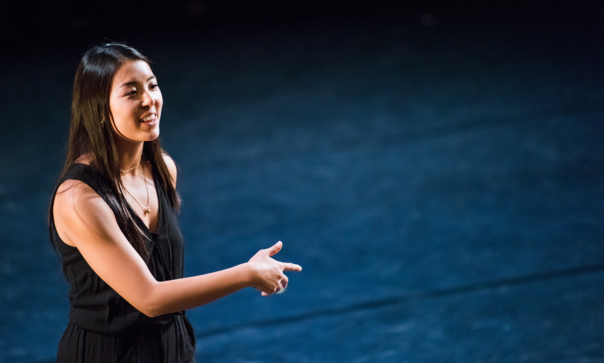 Maia Schechter '18, Dance, lights up the stage at the Kennedy Center