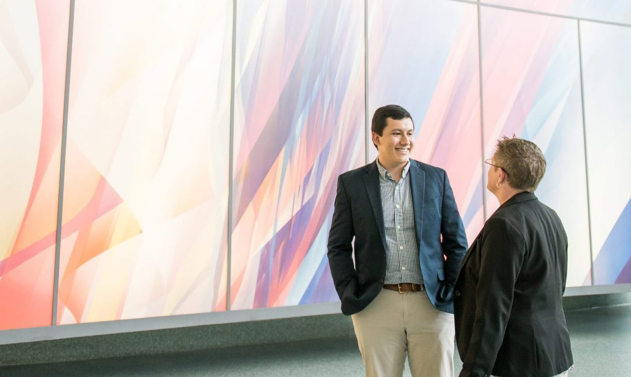 Evan Avila '20, economics and political science, wins iOme Challenge with ideas to help millennials save for retirement