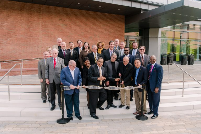 UMBC spotlights the power of collaboration and community in opening of new science building, GRIT-X talks